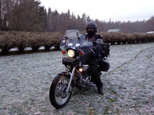 Hva har du gjort med motorsykkelen(e) din(e) i dag - tråden! - Page 3 Hjemme