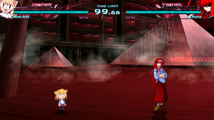 Artificial Eden: Crimson Air (Planned MBAA Stage Remake) Mugen014-6