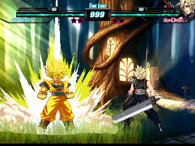 SSJ Goku by Balthazar & Cybaster Released (04/15/2013) Mugen137