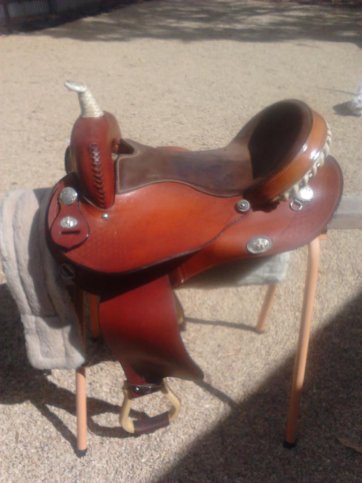 "16"" Martha Josey barrel racing saddle Saddle2_zps76274c3e"
