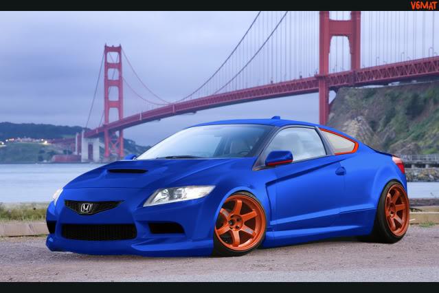 My photoshops Honda-CR-Z-2011-22-1