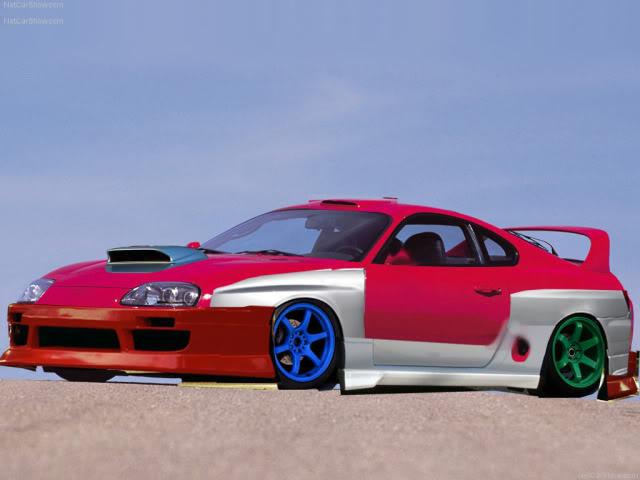 My photoshops Toyota-Supra_1996_1024x768_wallp-1