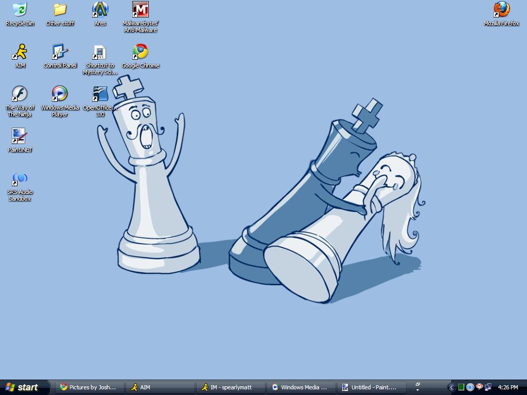 Post a Picture of Your Desktop. Desktop