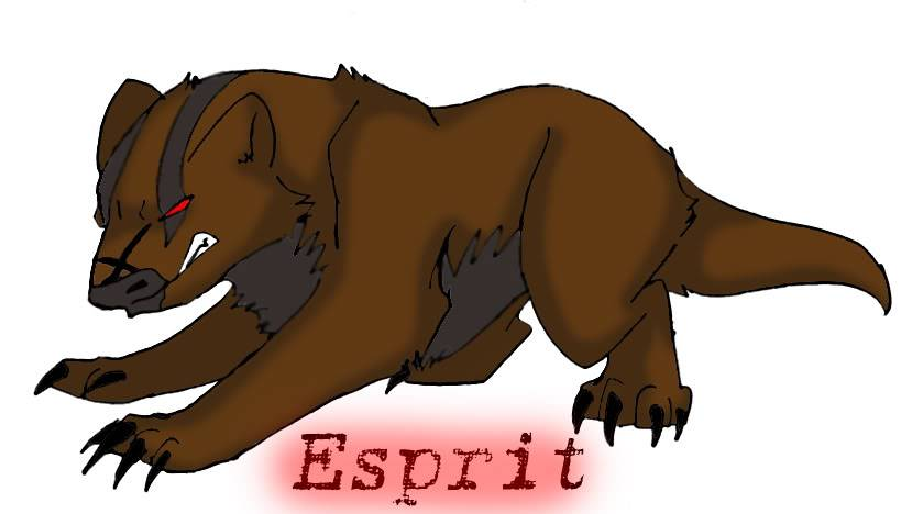 Characters of GD EspritTheBadger