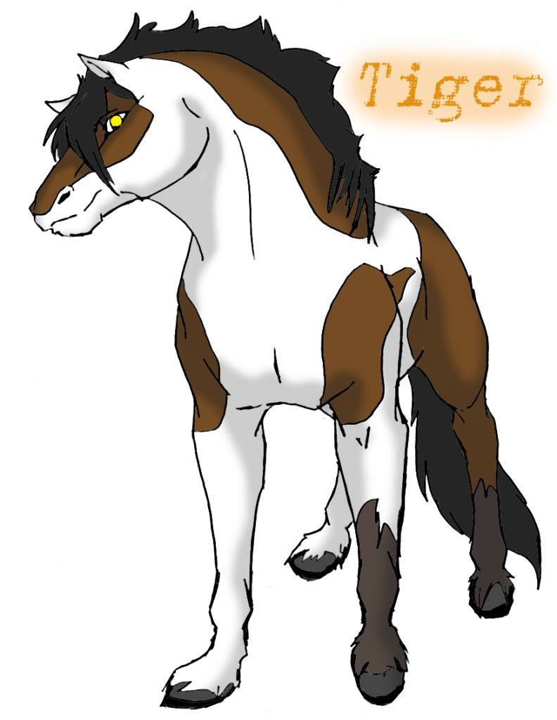 Characters of GD TigerTheHorse