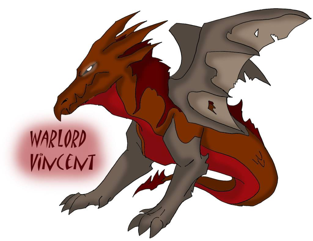 Characters of GD WarlordVincent