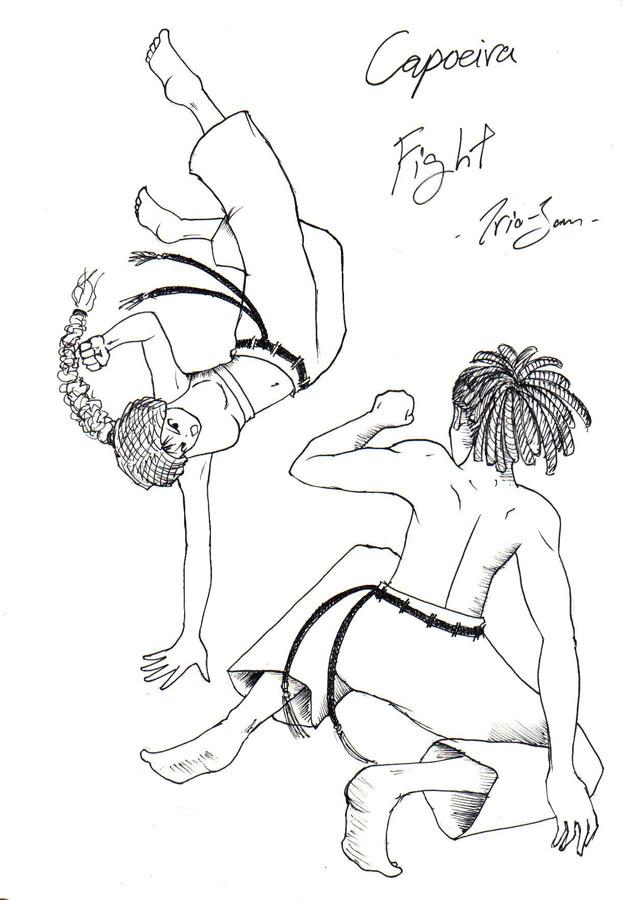 """กระถางหัวหอม - """"Gotta be tough!"""" - Page 15 Capoeira"""