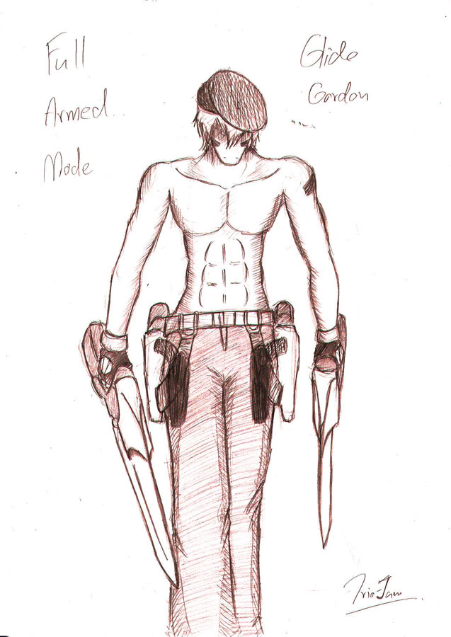 **เปลี่ยนตัว**[Character-05]ไกลด์ กอร์ดอน(**อัพเดตรูป เหลือแค่อินโทร) Glide