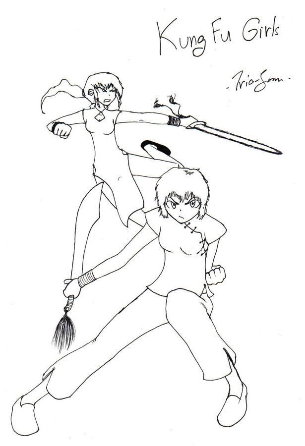 """กระถางหัวหอม - """"Gotta be tough!"""" - Page 15 Kungfu_girls"""