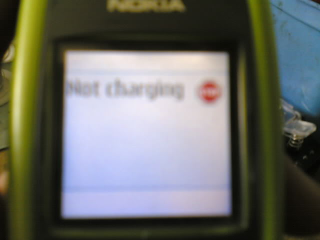 2600 not charging done 26001