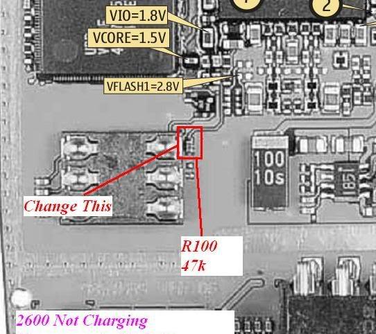 2600 not charging done 2600notcharging
