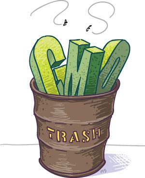 GMO - hrana kao oružije GMO-in-trash
