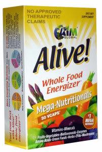 FS: ALIVE! Mega Nutritionals Food Supplement (Original) ALIVE-whole-food-energizer