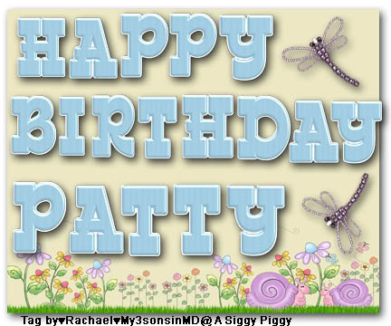 BIRTHDAY THREAD! - Page 7 PattyBithday