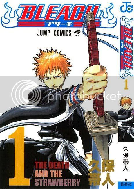 Bleach [Manga] Bleach-volume1-cover