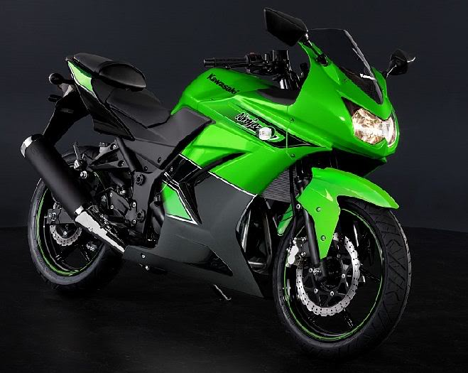 New Ninja 250 R Spesial Edition Kawasakininja250r2011specialeditionlimegreen