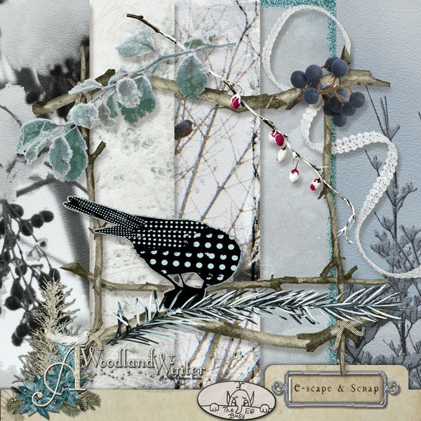 A Woodland Winter:  post your stuff here WoodlandWinter_NiftyDesignerSeries_TBED_Preview