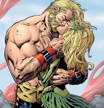 Marvel/CAU: Thor Beijo