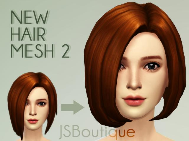 Прически для The Sims 4 Женские. 007fc512d7841ac771beea1a92737810