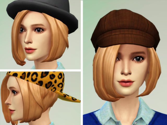 Прически для The Sims 4 Женские. B1f1e28f10a15231edc0fad6e5546ca9