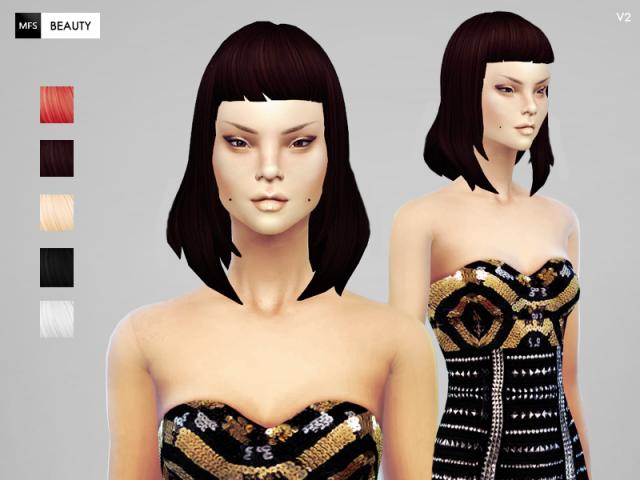 Прически для The Sims 4 Женские. 8cb786598bc42177b0c6bfa319f4a1be