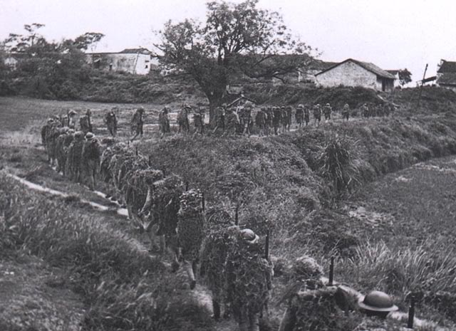 soldats chinois Division