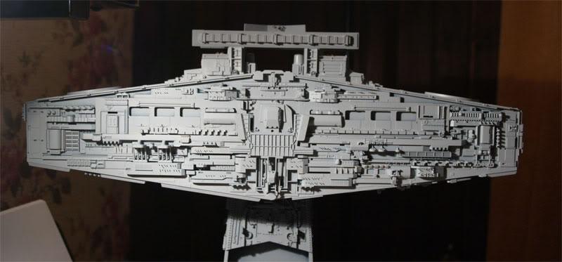 Star Destroyer de L'Empire Contre-Attaque 8ft138