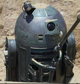 1:1 R2-T0 / R2-G2 Astromech droid R2T0