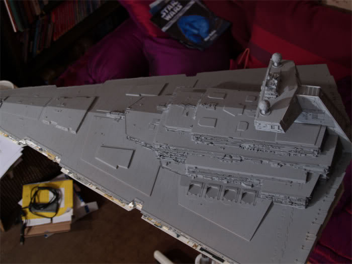 [Star Wars] Impérial Star Destroyer (updates 21/10) (Peint!) ISD206
