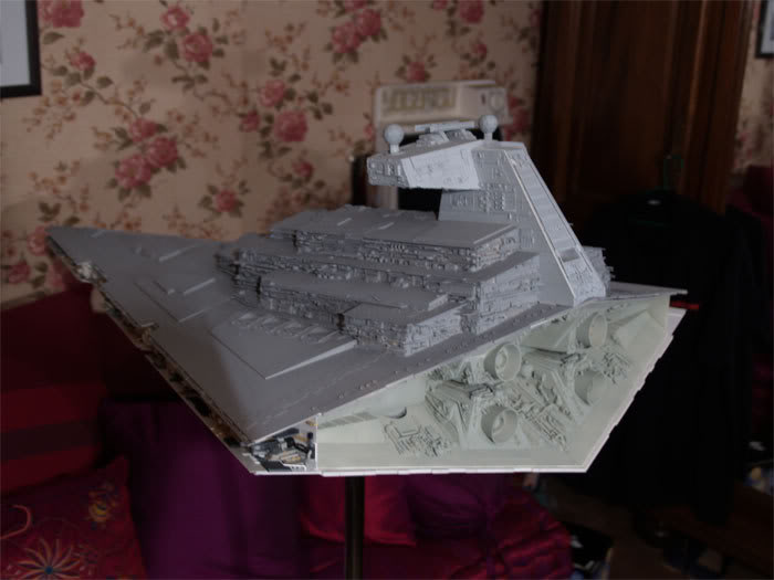 [Star Wars] Impérial Star Destroyer (updates 21/10) (Peint!) ISD215
