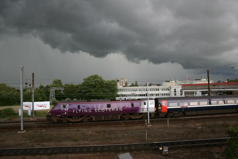 RailFest (York) 9th June 2012 1512HeavbySkyTheFlyingScotsmanYork9thJune2012