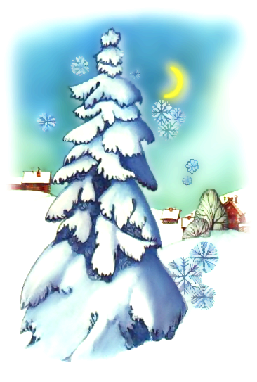 Srecni Bozicni i Novogodisnji praznici svim clanovima foruma Winter_scene_2