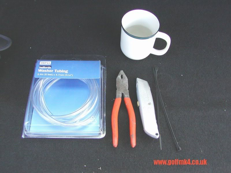 rear screen wash repair mk4 Washer_tools