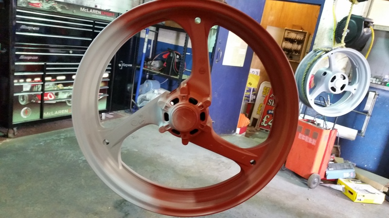 thought i would paint my wheel :) 20150401_135144
