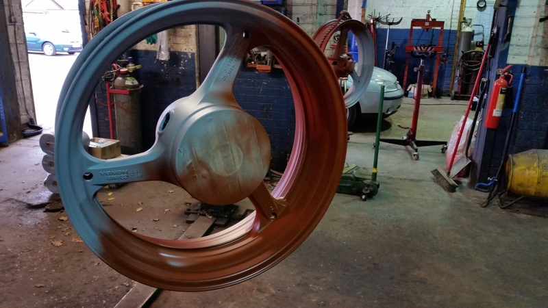 thought i would paint my wheel :) 20150401_172720