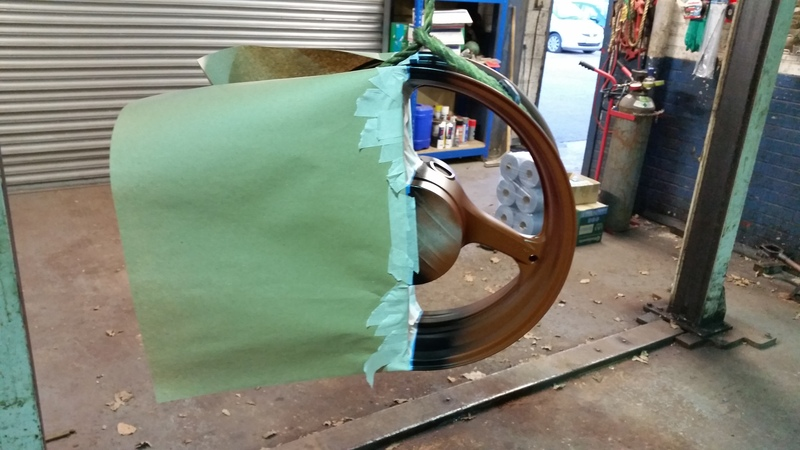 thought i would paint my wheel :) 20150402_192339