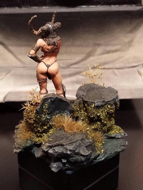 "ki ra  "" the wild hunter ""  kabuki model 54mm  20140930_082004-1_zps274f9d4d"