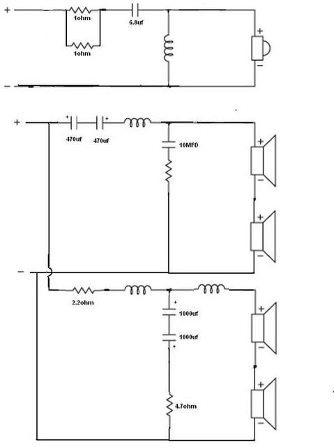 DUDA impedancia de cajas  ( 6Ω ≠ 11Ω ) Mission753schematic