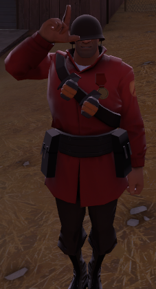 Team Fortress 2 SoldierMedal