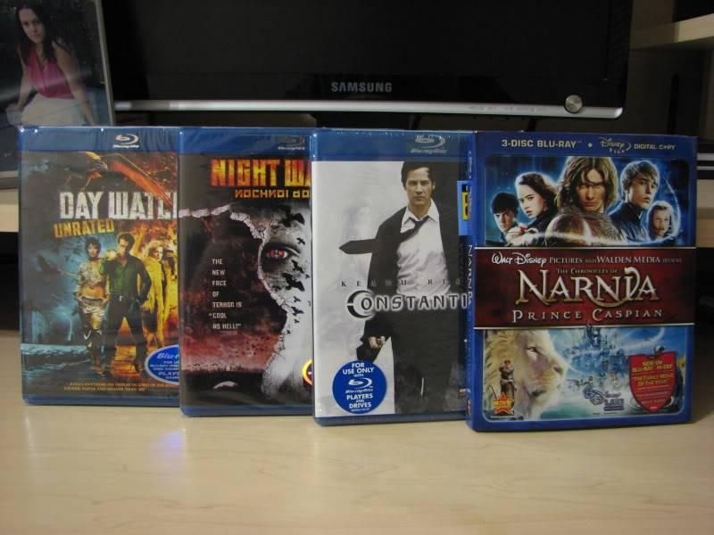 Les DVD et Blu Ray que vous venez d'acheter, que vous avez entre les mains - Page 2 Arrivage4dcembre2008