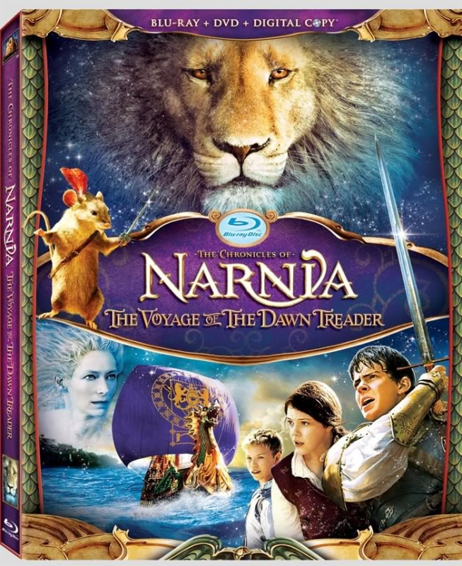 [Blu-ray et DVD] Le Monde de Narnia : L'Odyssée du Passeur d'aurore VoyageofdawntreaderBLURAY