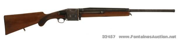 Fusil à barillet inconnu.  Becker1