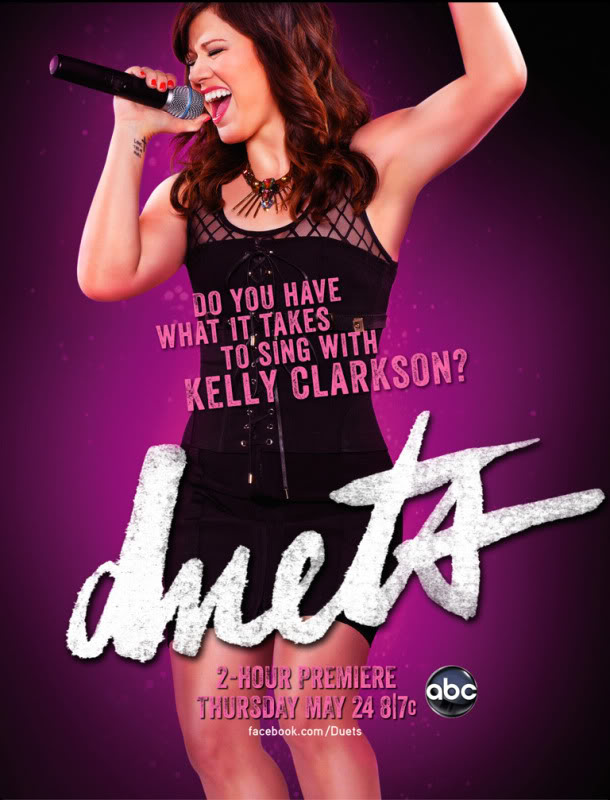 """TV Show >> """"Duets"""" (24/5) Kellyewmag"""