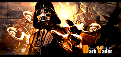 NUEVAS fimas Dark-vader
