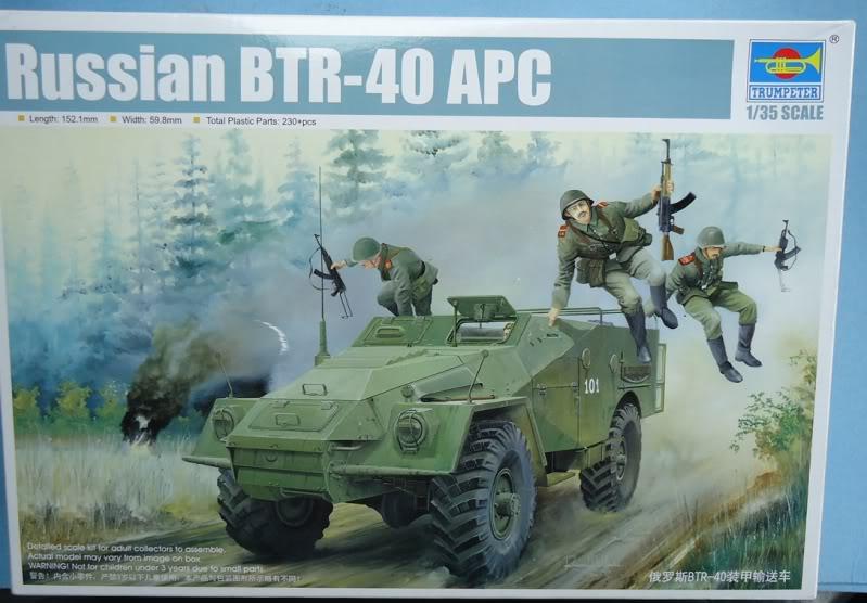 Trumpeter BTR 40 B40-1