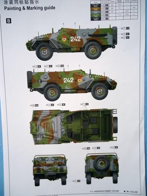 Trumpeter BTR 40 B40-11