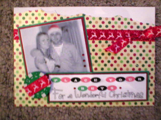 Roulette /Christmas card PB280212-1