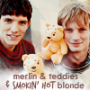 Merlin - You must eradicate the source of this pestitence. The Witch. The Lady Morgana.  Teddy3_icon
