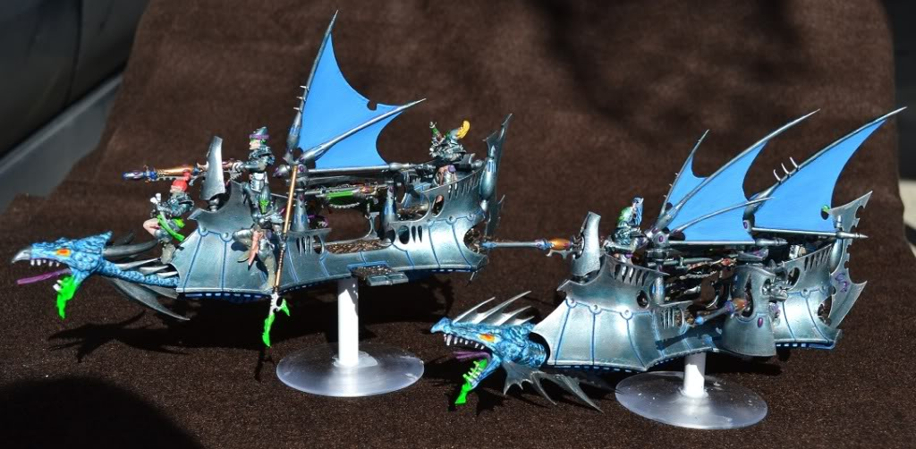 The Serpents' Breath - June 29, the first skimmers and bikes for my Harlies 017-2