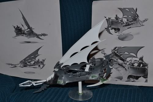 The Serpents' Breath - June 29, the first skimmers and bikes for my Harlies DarkEldarReaper-1